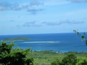 View of Sandy Island