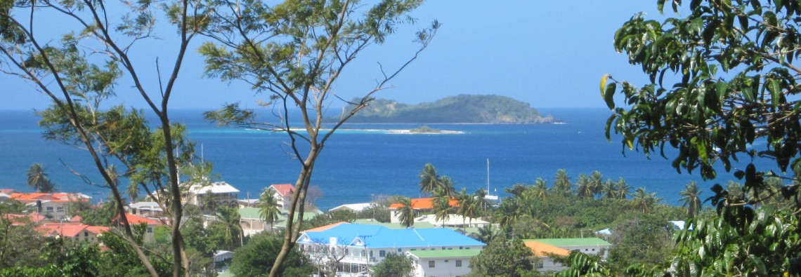 View over Hillsborough Bay to the out islands