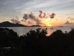 Sunset ove...