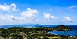 View over Tyrrel Bay and Belmont to Grenada