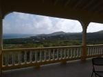 View over Mount Pleasant from upper veranda