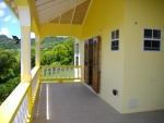 Upper Veranda with doors from living area
