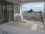 Lower apartment veranda