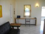 Indoor living/dining area